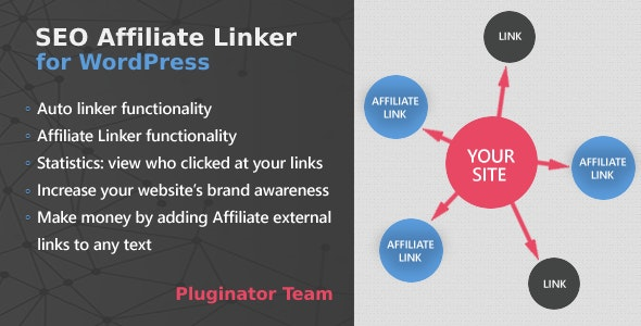 SEO Auto Affiliate Linker WordPress Plugin - CodeCanyon Item for Sale