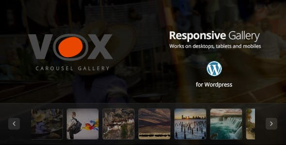 Vox Carousel Gallery for Wordpress