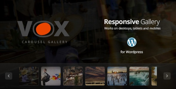 Vox Carousel Gallery for Wordpress - CodeCanyon Item for Sale