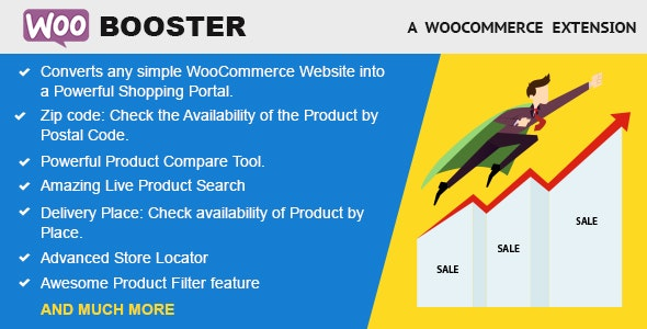 WooBooster - WooCommerce Compare, Live Search, Product Filter, Store Locator - CodeCanyon Item for Sale