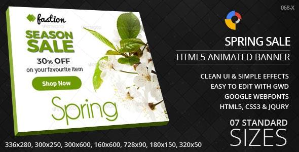 Seasonal Sale - HTML5 Ad Banners - CodeCanyon Item for Sale