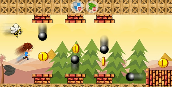 Jungle Adventures with AdMob and Leaderboard - CodeCanyon Item for Sale