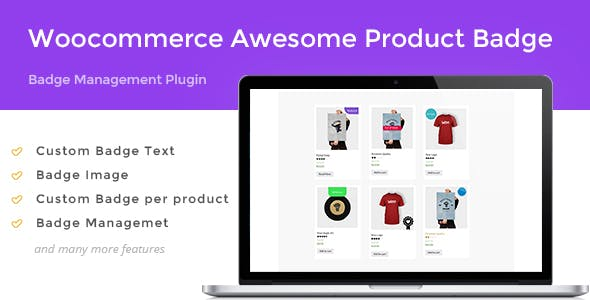 Woocommerce Awesome Product Badge