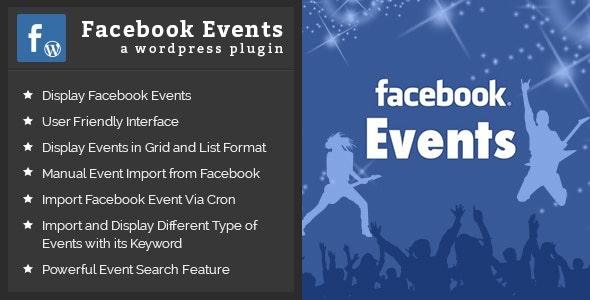 FaceBook Events - CodeCanyon Item for Sale