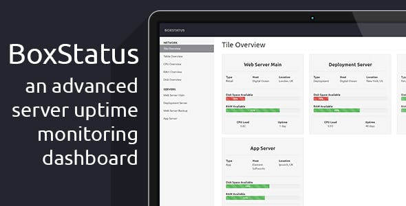 BoxStatus - The Advanced Server Status Dashboard