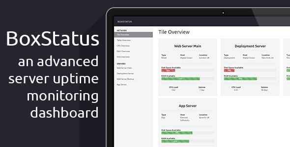BoxStatus - The Advanced Server Status Dashboard - CodeCanyon Item for Sale