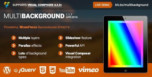 MultiBackground - Powerful WordPress Backgrounds