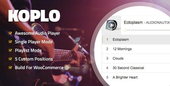 Koplo - WooCommerce Product Audio Sample Player