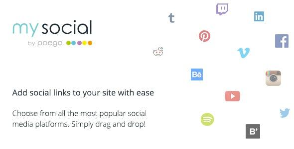 My Social - Social Links for WordPress