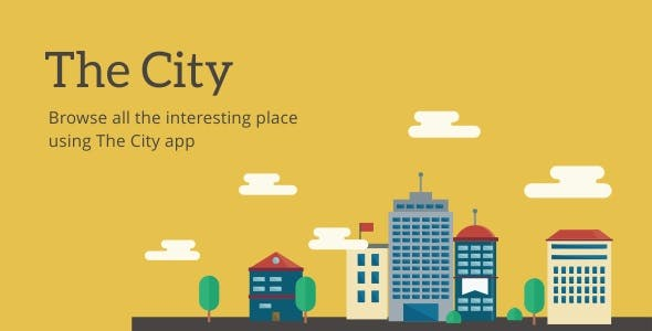 The City - Place App with Backend 7.0