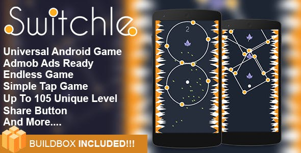 Switchle  - Addictive Game Android Game Template Eclipse Project