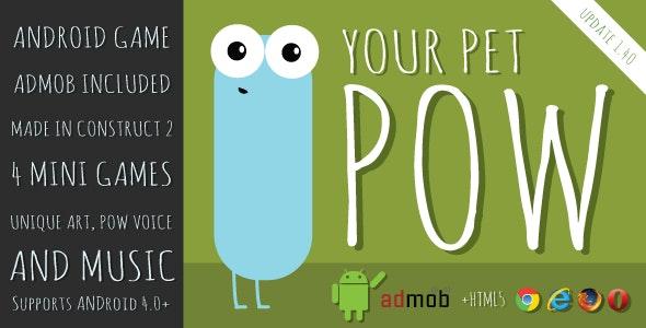 Pow | Tamagotchi like game with AdMob - CodeCanyon Item for Sale