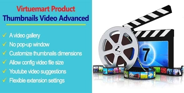 Virtuemart Product Thumbnails Video Advanced - CodeCanyon Item for Sale