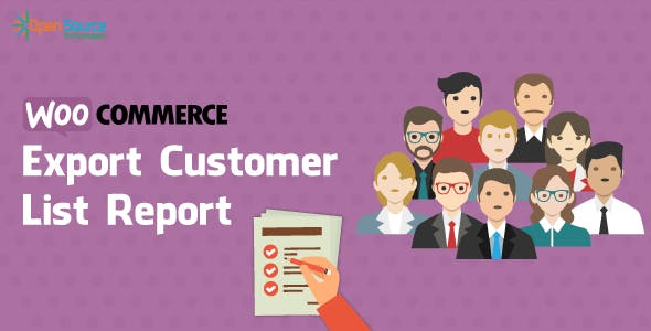 Woocommerce Export Customer List Report