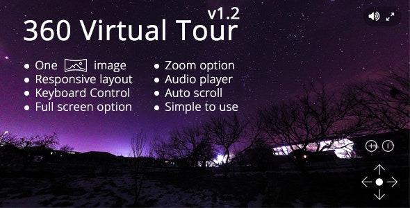 360 Virtual Tour - CodeCanyon Item for Sale