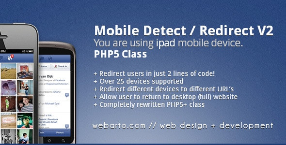PHP Mobile Device Detect - CodeCanyon Item for Sale