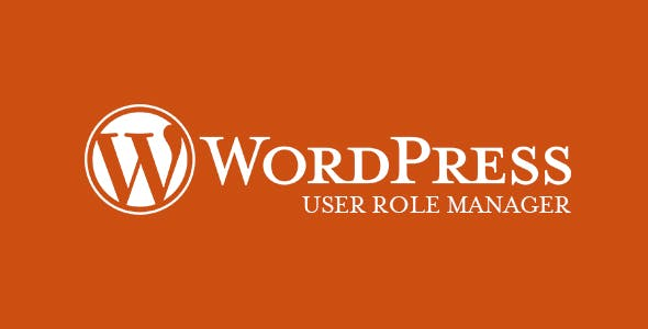 WordPress User Role Manager