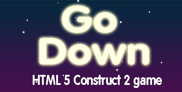 Go Down - HTML5 Mobile Game - CodeCanyon Item for Sale