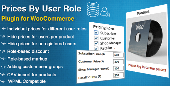 Prices By User Role for WooCommerce        Nulled