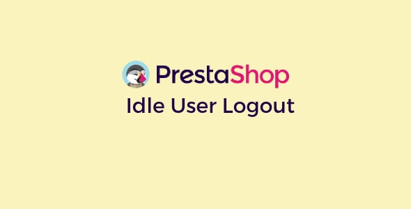 Prestashop Idle User Logout - CodeCanyon Item for Sale