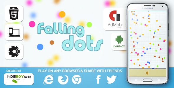 Falling Dots - CodeCanyon Item for Sale