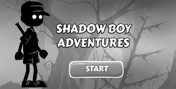 Shadow Boy Adventures - HTML5 Game - CodeCanyon Item for Sale