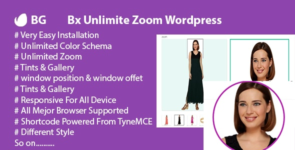 Bx Unlimited Zoom Wordpress - CodeCanyon Item for Sale