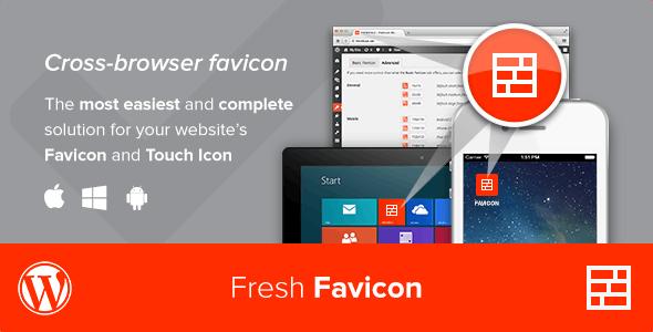 Fresh Favicon - WordPress Plugin - CodeCanyon Item for Sale