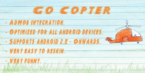 Go Copter With AdMob - CodeCanyon Item for Sale