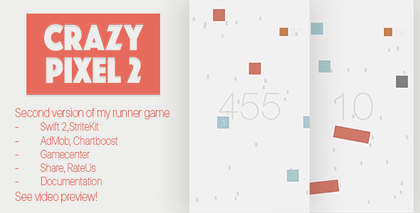 Crazy Pixel 2 - CodeCanyon Item for Sale