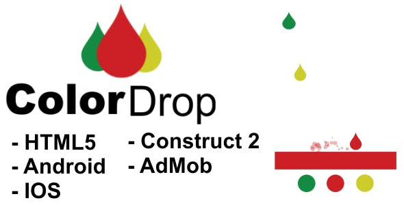 Color Drop - HTML5 Mobile Game