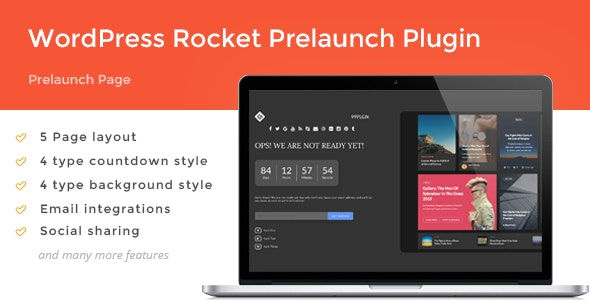 Woocommerce Rocket Pre Launch - CodeCanyon Item for Sale
