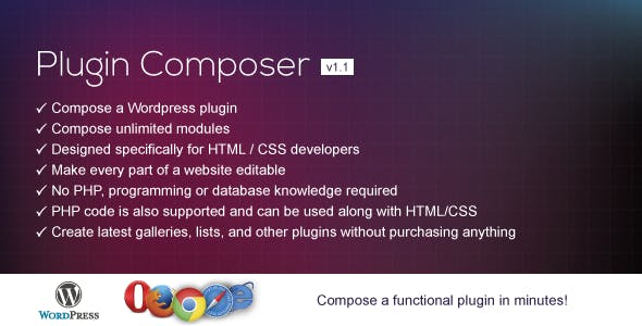 Plugin Composer for WordPress