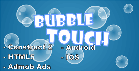 Bubble Touch - HTML5 Mobile Game - CodeCanyon Item for Sale