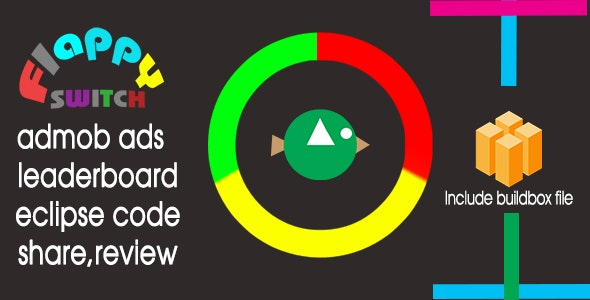 flappy switch - Buildbox Game Template - CodeCanyon Item for Sale