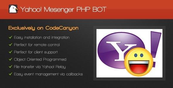 Yahoo! Messenger PHP BOT