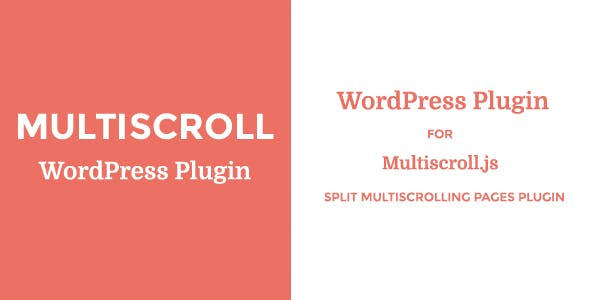 Multiscroll - WordPress Plugin