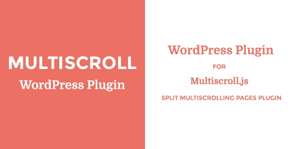 Multiscroll - WordPress Plugin - CodeCanyon Item for Sale