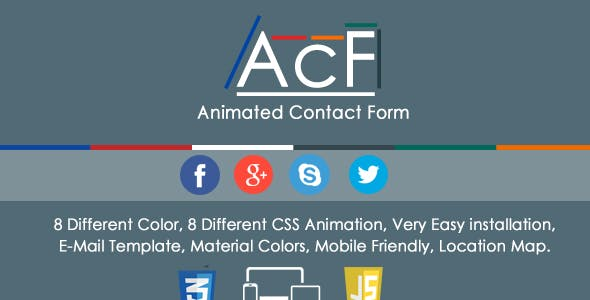 AcF - Animated Contact Form