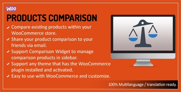 WooCommerce Products Comparison - CodeCanyon Item for Sale