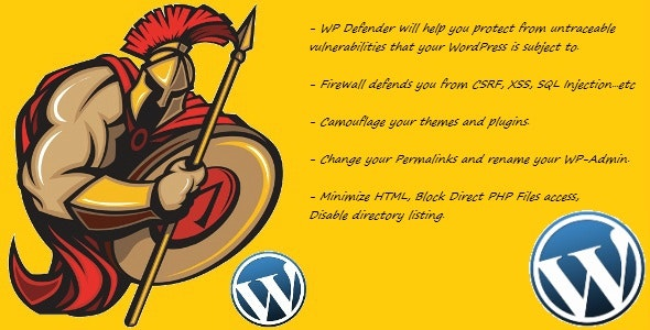 WP Defender : Security Plugin for WordPress - CodeCanyon Item for Sale