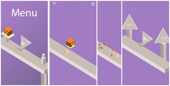 Jumpy - Buildbox Game Template + Android Eclipse Project  - CodeCanyon Item for Sale