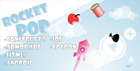 Rocket Pop - HTML5 Mobile Game