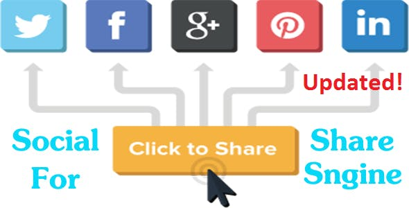 Stylish Social Share Pro For Sngine