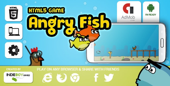Angry Fish - CodeCanyon Item for Sale