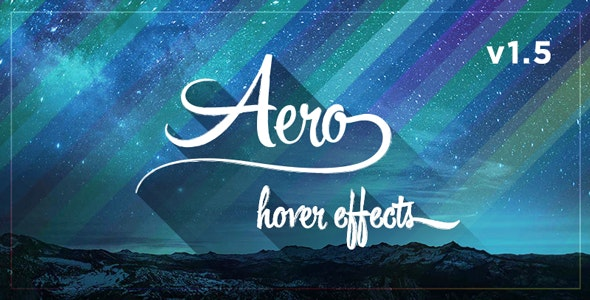 Aero - CSS3 Hover Effects - CodeCanyon Item for Sale