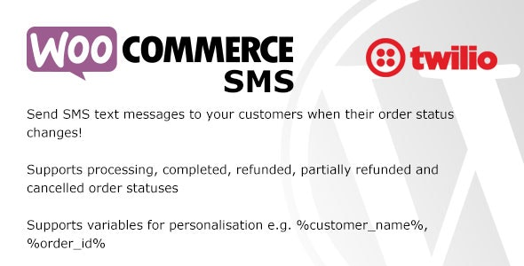 WooCommerce SMS - CodeCanyon Item for Sale