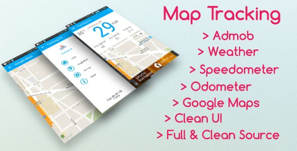 Map Tracking with Admob version 3.0