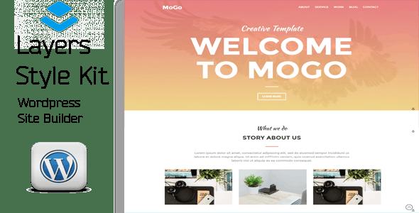 MoGo - Layers WordPress Style Kit - CodeCanyon Item for Sale