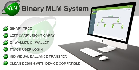Binary MLM System - CodeCanyon Item for Sale